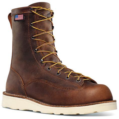 danner work boots danner bull run 8 inch work boot 15556