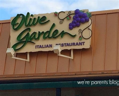 Olive Garden New Jersey by Olive Garden Launches New Menu Were Parents