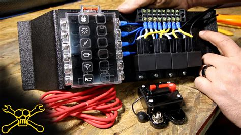 how to make a power relay fuse block automotive wiring