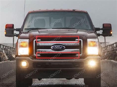 f250 light bar grille 2011 2016 ford f 250 f 350 duty high power led light bar