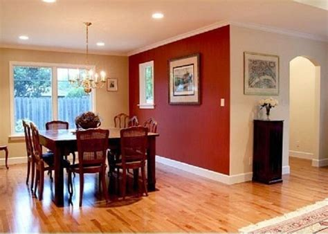 painting small dining room with merlot red accent wall dinning room wall colors photos