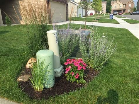 Landscape Ideas To Hide Electrical Box Backyard Neophyte Landscaping July 2015