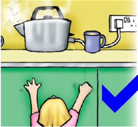 child safety electricity and gas around the home