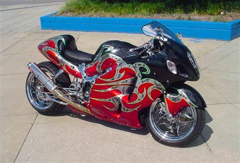 Custom Suzuki Bikes Suzuki Gsxr 1300 Custom Paint Custom Motorcycles