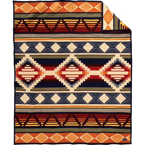 Wool Pendleton pendleton cedar mountain wool blanket made in
