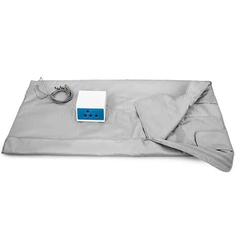 Portable Infrared Sauna Blanket by Far Infrared 660w Fir Portable 3 Zone Sauna Blanket Pu Spa