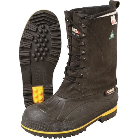 safety toe boots baffin 13 quot h safety toe pac boots gempler s