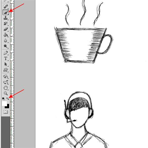 tutorial vector sketchbook how to create vector sketch using photoshop and