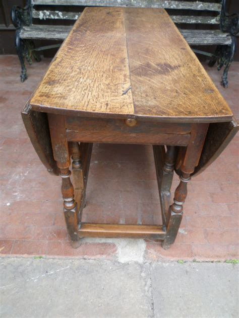 Antique Gateleg Dining Table Antique Period Oak Gateleg Dining Table Antiques Atlas