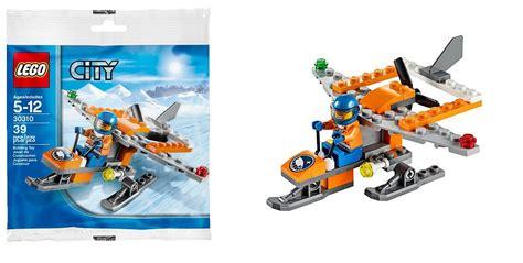 Lego City 30310 Arctic Scout Plane Set Building Snow Heli Pilot lego city arctic sets gallery