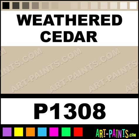weathered cedar ultra ceramic ceramic porcelain paints p1308 weathered cedar paint