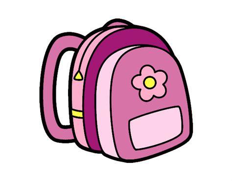 imagenes de mochilas kawaii dibujo de mochila de ni 241 a pintado por en dibujos net el