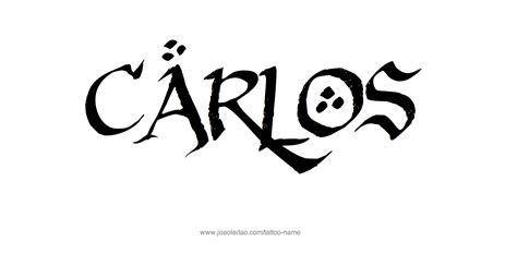 carlos tattoo carlos name designs