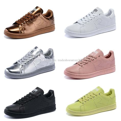 2016 new design raf simons stan smith shoes fashion casual leather skate shoes brand