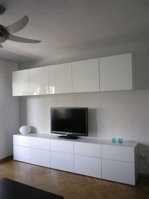 hanging ikea besta wall cabinets ikea besta cabinets with high gloss doors in living room