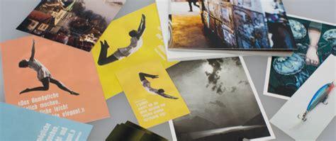 Postkarten Drucken Express by Postkarten Drucken Druckeinfach Ch