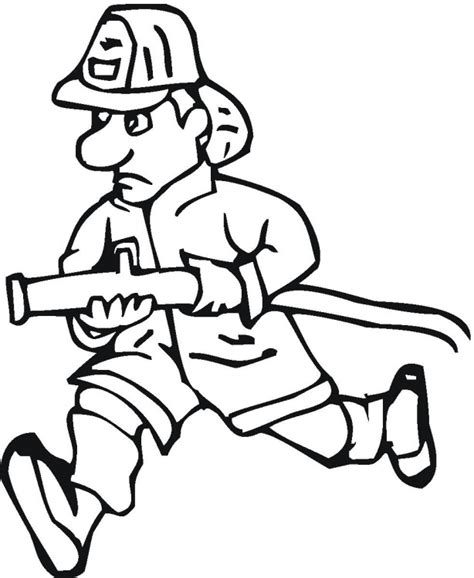 coloring page of house on fire free fire police coloring pages
