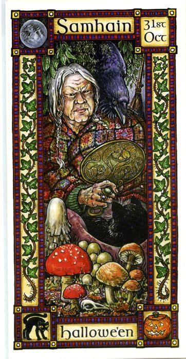 libro ostara tarot the goddess and the green man samhain halloween samhain halloween wicca