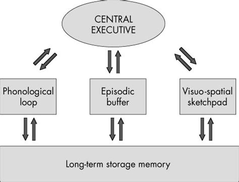 Memory Wstor working memory model psychology