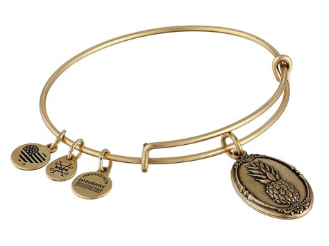 alex and ani bracelet alex and ani pineapple ii bracelet at zappos
