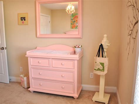 Pink Changing Table Photo Page Hgtv
