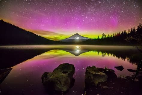 Northern Lights Oregon by What Causes The Borealis Earth Earthsky
