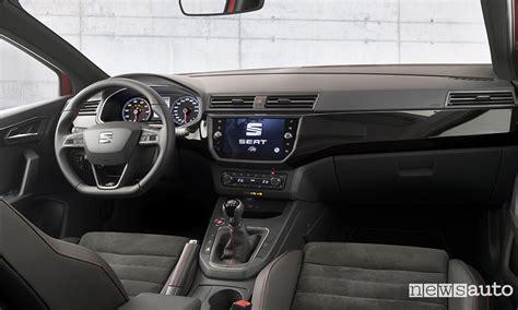 seat ibiza interni nuova seat ibiza 2017 prova 1 0 3 cilindri newsauto it