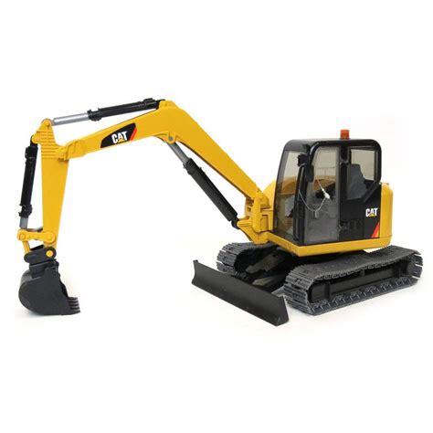 bruder excavator cat mini excavator by bruder toys fundamentally toys
