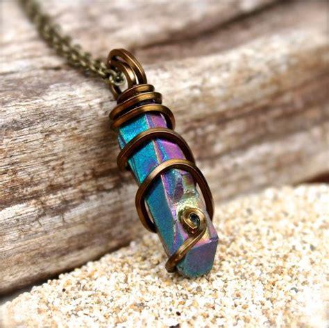 how to make hippie jewelry necklace hippie jewelry wire wrapped