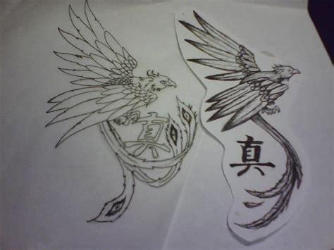 phoenix kanji tattoo phoenix tattoo by silentearsofhope on deviantart