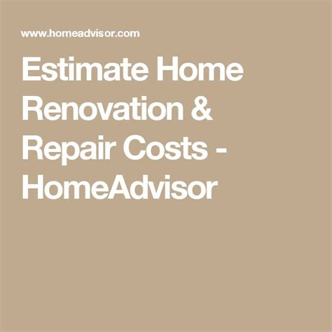 25 best images about home renovation costs on