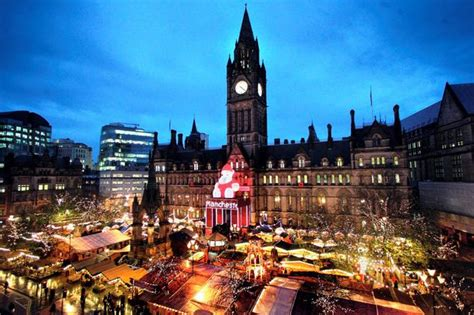 manchester christmas markets where to park manchester