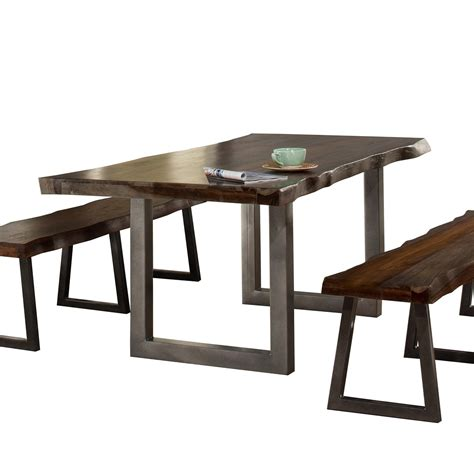 Wood Rectangular Dining Table Hillsdale Emerson Sheesham Wood Rectangular Dining Table Olinde S Furniture Dining
