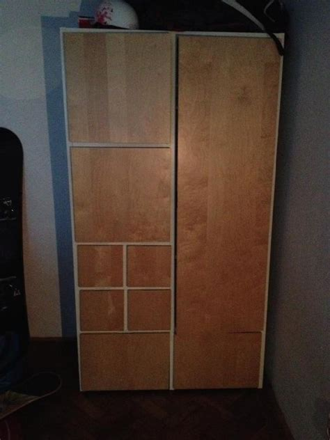 Kleiderschrank Weiß Lack by Ikea Rakke Carprola For