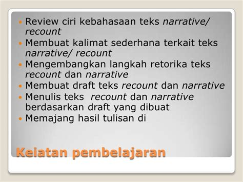 membuat narative text narrative teks