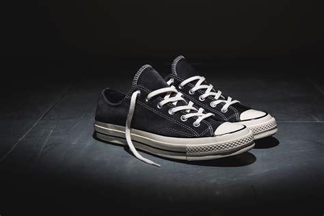 Converse Ct 70s High Black White converse chuck 70s suede collection sneaker bar