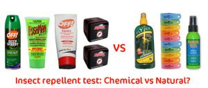 natural insect repellent does it work we test 7 types of repellent