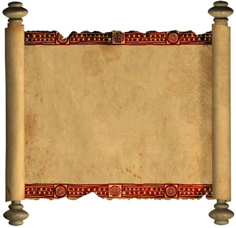 Ancient Ancient Scroll Template