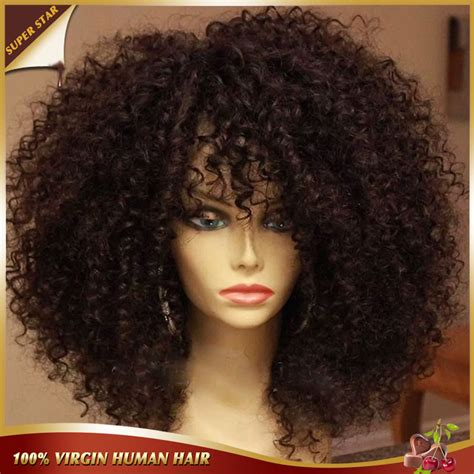 Curly Hairstyles For American Hair by Curly Afro Wig Hairstyle 2013
