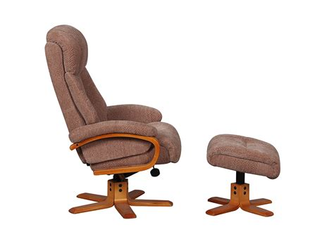nice recliner chairs nice swivel chair footstool race furniture middlesbrough