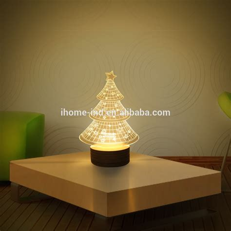 3d usb table top night light wooden unique night lights 3d