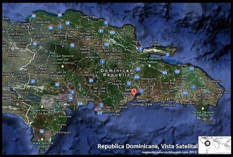 Imagenes Satelitales Republica Dominicana   mapa de haiti y republica dominicana satelital