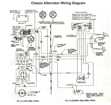 component alternator regulator circuit dynamo current and