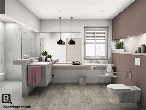 rollstuhl badezimmer barrierefreies traumbad badezimmer