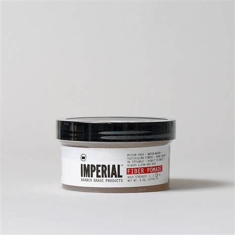 Pomade Imperial imperial barber products fiber pomade clear industry