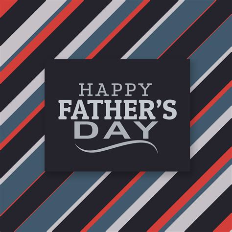 modern happy fathers day lettering   vector