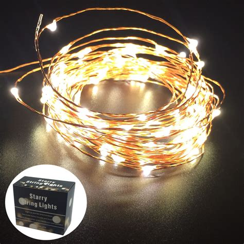 firefly lights copper wire lights 50xwholesale ultra thin invisible copper wire led fairy