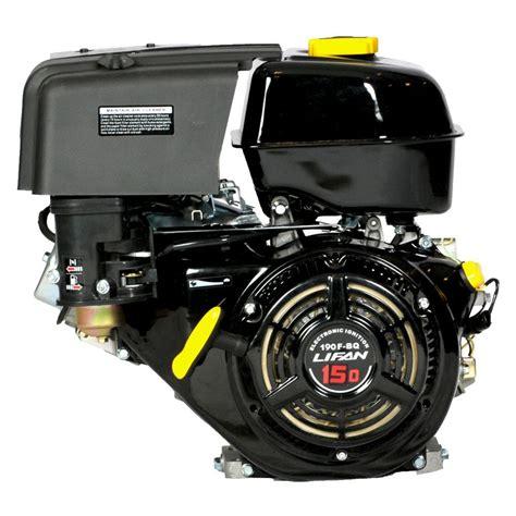 lifan 1 in 15 hp 420cc ohv electric start horizontal