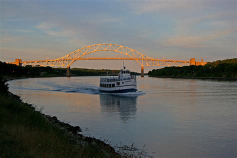 cape cod canal cape cod canal massachusetts photograph by bob see