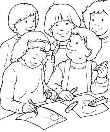 i can be a friend coloring page sermons4kids com